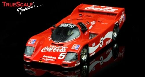 Porsche 962 long tail Bob Akin  Coca Cola 24h Daytona 1985 1 43 Model  vente pas cher