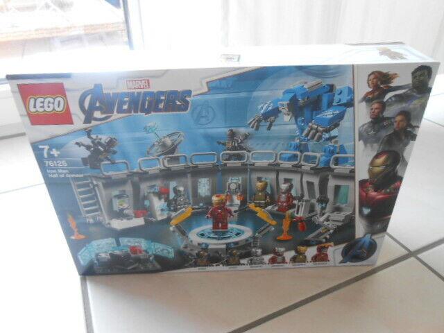 LEGO® Marvel AVENGERS AVENGERS AVENGERS 76125 Iron Man Hall of Armour 73fc0c
