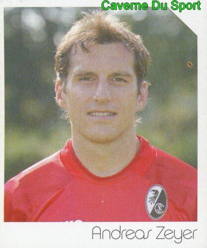 158 ANDREAS ZEYER GERMANY SC.FREIBURG STICKER FUSSBALL 2004 PANINI