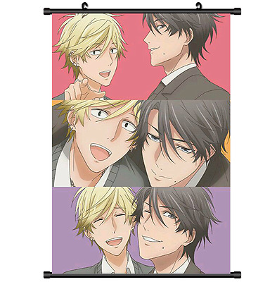 New BL Yaoi Anime Hitorijime My Hero Wall Poster Scroll cosplay 2677