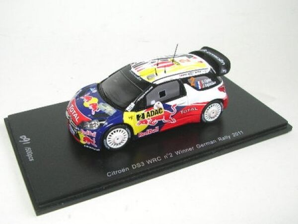 Citroen DS3 WRC No. 2 Winner Rally Germany 2011