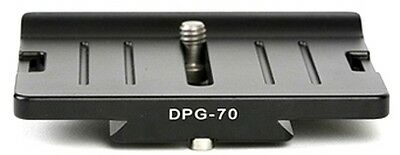 SUNWAYFOTO DPG-70 80mm QR Camera Body Plate DPG70 Arca Compatible Sunway NEW