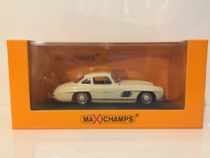 Maxichamps 940039002 Mercedes Benz 300 SL Coupe 1955 White 1 43 OFFER