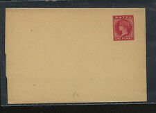 Natal  wrapper  unused   one penny  red        PS0415
