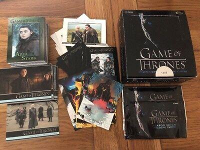 Game Of Thrones Season 5-100 Card Basic//Base Set #100 Very Slightly Damaged
