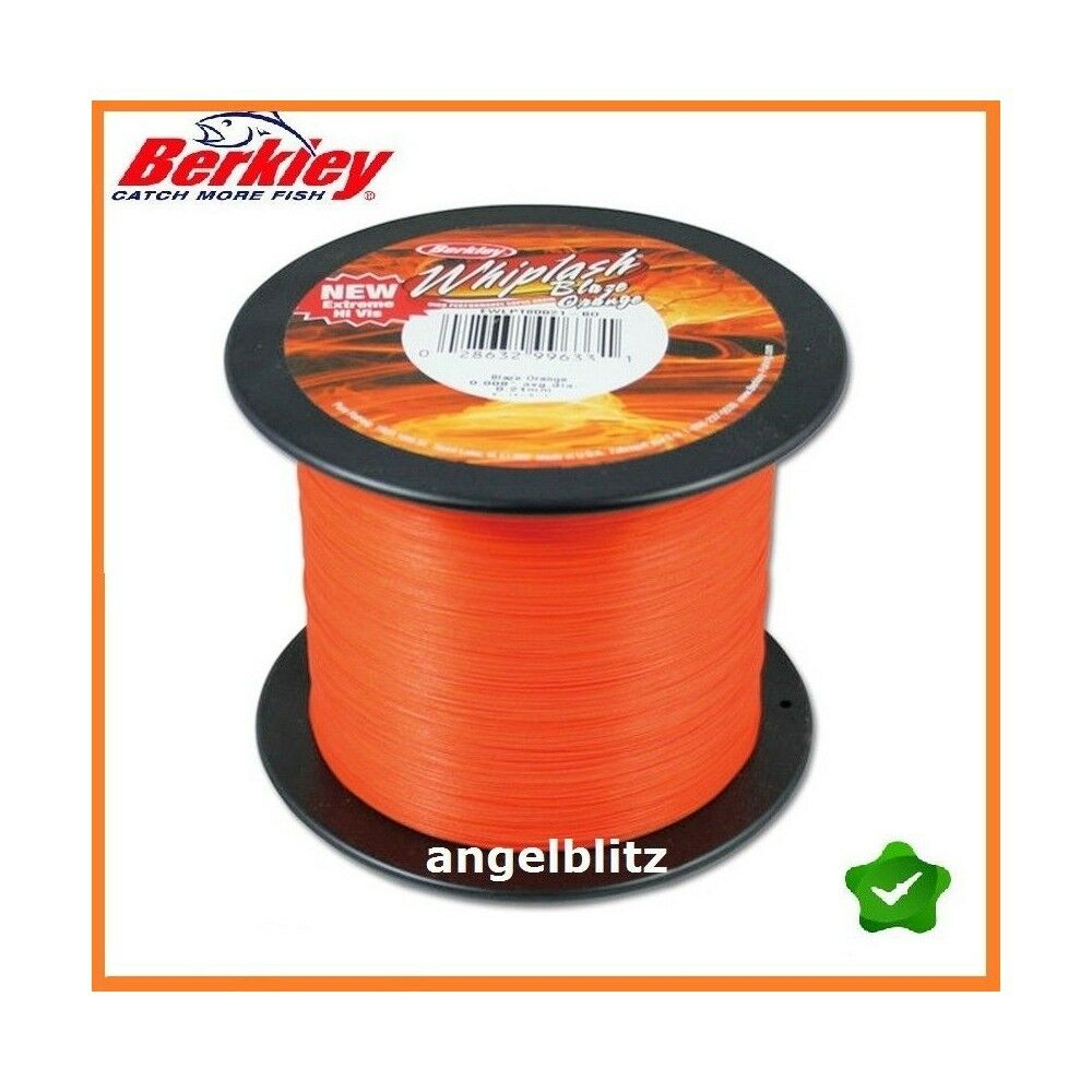 Berkley Whiplash Orange 1800 m m m   0,12 mm   (  m)  | Online Shop