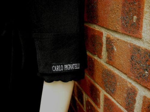 Vintage Black Carlo Taille Pignatelli M Dress ArrwZq