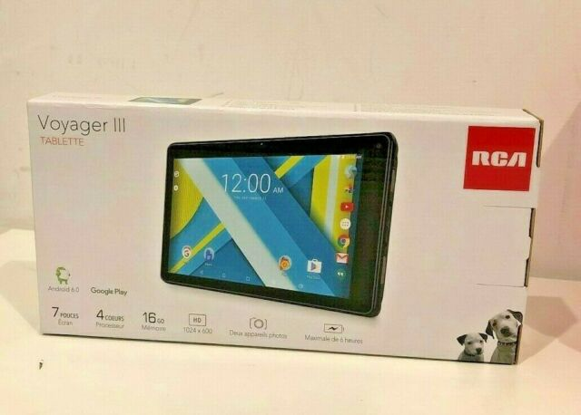 """RCA RCT6973W43 Voyager III RCA 7"""" 16GB Tablet Android - Brand New"""