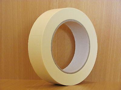 BBK-K80 / 36 x Abdeckband 25 mm x 50 m Lackiererband Kreppband Abklebeband 80°C
