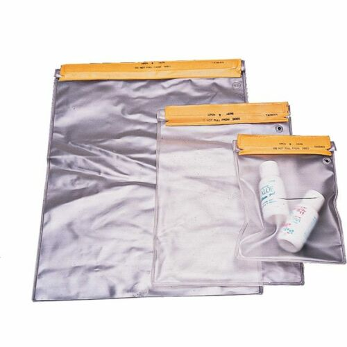 Liberty Mountain Waterproof Pouch 7x10 Bag Roll-Top Self-Sealing Closure 3-Pack