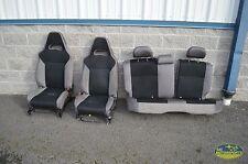 06 07 SUBARU IMPREZA WRX WAGON SEAT SET FRONT REAR LEFT RIGHT OEM FACTORY GREY