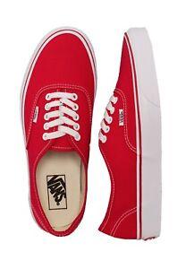 scarpe vans uomo rosse