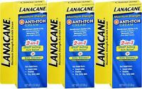 Lanacane Maximum Strength Anti-itch Medication, Cream 1 Oz ( 3 Pack )