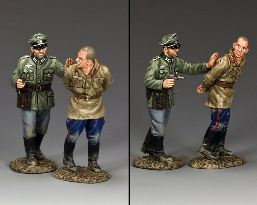 KING AND COUNTRY German Goodbye Commissar WW2 WS270