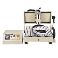Usb 3axis Cnc 6040 Router Engraver Machine Drill Woodwork Cutting 1500w Rc