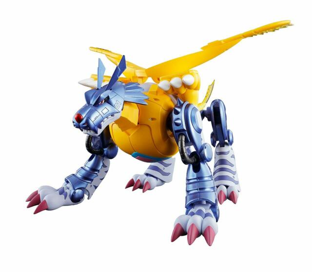 Digivolving Spirits 02 Metal Garurumon Digimon Action Figure Bandai