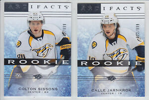 2014-15-UD-ARTIFACTS-CALLE-JARNKROK-RC-999-ROOKIE-129-Upper-Deck-Predators