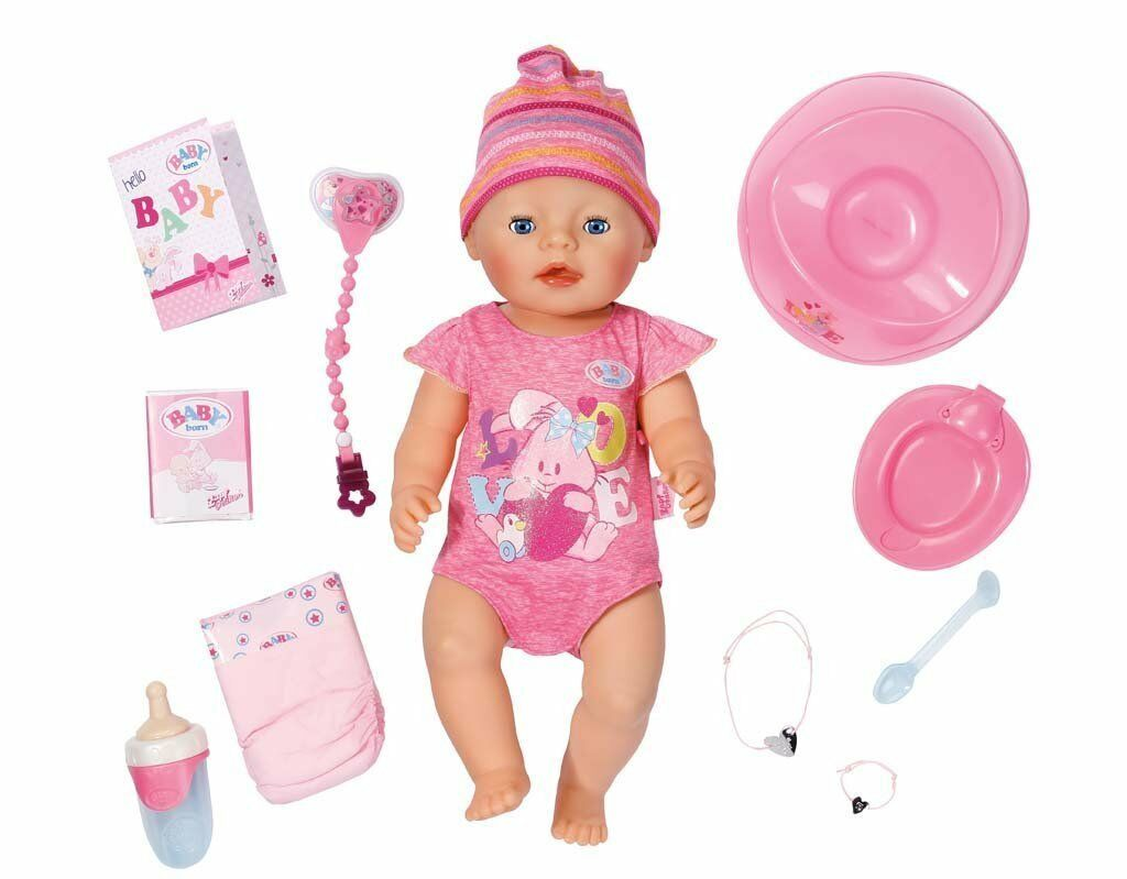 Zapf Creation 822005  Baby born Interactive NEUHEIT 2016  OVP/