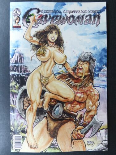 CAVEWOMAN: A Barbarian a Princess and Meriem Basement Comics January 2020