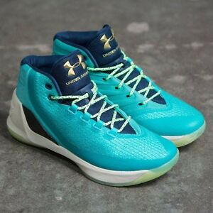 quality design 473e1 b3496 DS Limited Edition Under Armour Curry 3 Neptune Reign Water LE 10 ...
