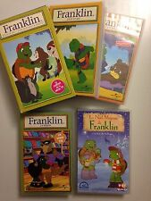 LOT VHS - COFFRETS K7 VIDEO VHS FRANKLIN