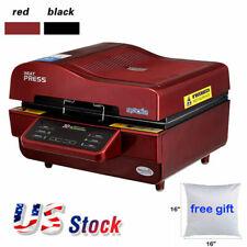 3d Vacuum Sublimation Heat Press Printer Machine 10pcs 16 White Pillowcase