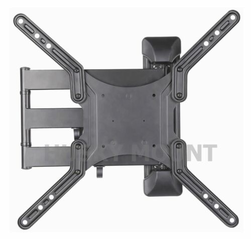 Articulating Full motion TV wall mount Bracket swivel LED LCD 32 42 50 55 inch