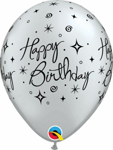 Luft Latex Ballons Party Dekoration Qualatex 6 Happy Geburtstag 27.9cm Helium