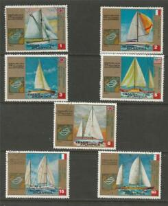 EQUATORIAL-GUINEA-1973-Trans-Atlantic-Race-USED-SET