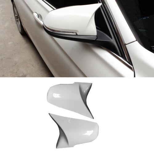 White Side Mirror Cover Cap For BMW 1 2 3 4 F20 F21 F22 F23 F30 F31 F32 F33 F36
