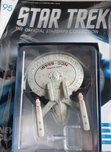 Star TREK OFFICIAL Starships Magazine #95 New Orleans Class ship EAGLEMOSS lingua inglese