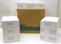 Bnz 3000 Insulating Fire Bricks 9 X 6.75 X 3, Z1346b, Box Of 8