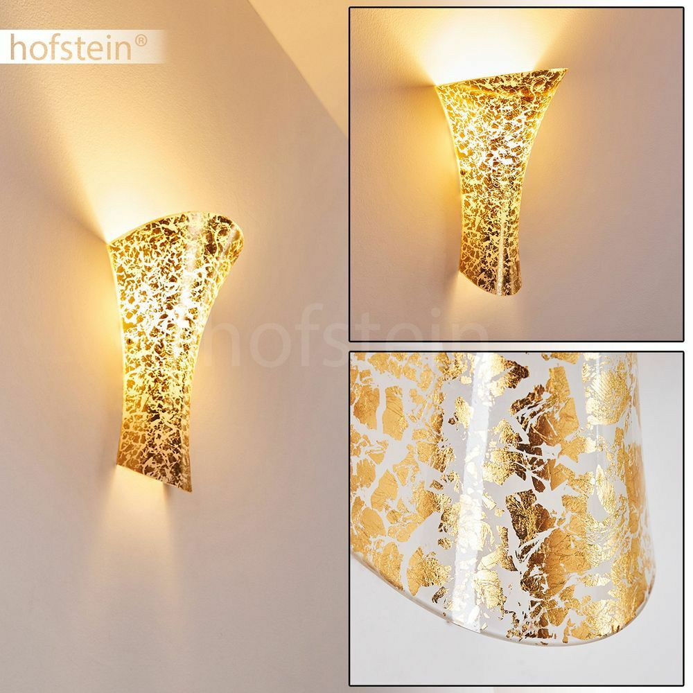 Up&Down Strahler Wohn Schlaf Gäste Zimmer Flur Wand Küchen Lampe Goldfarben | Große Auswahl