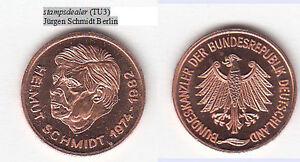 stampsdealer-Helmut-Schmidt-Bundeskanzler-Hamburg-Cu-Medaille-18-mm-TU3
