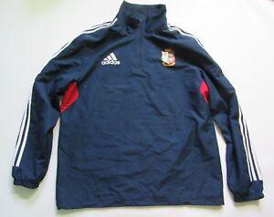 19534313 BRITISH AND IRISH LIONS RUGBY training jacket ADIDAS AUSTRALIA 2013 ...