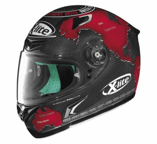 X-Lite X-802RR Checa Replica Full Face Carbon Fiber Motorcycle Helmet