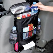 Car Van Back Seat Multi-Pocket w/ Cool Hot Thermal Bag Insulation Travel Storage