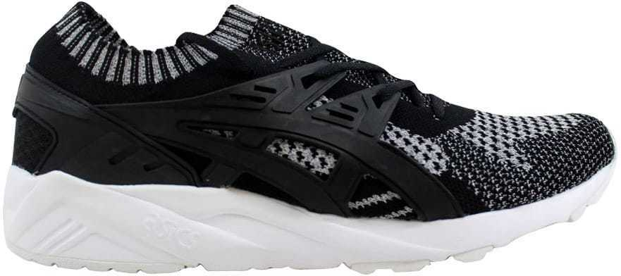 Asics Gel Kayano Trainer Trainer Trainer Knit Silver Black H7S3N 9390 Men's SZ 9.5 376fe8