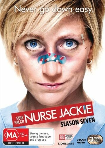 1 of 1 - Nurse Jackie : Season 7 (DVD, 2016, 3-Disc Set)