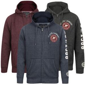 Tokyo-Laundry-Men-039-s-Hampton-Zip-Through-Hoodie-Hooded-Top