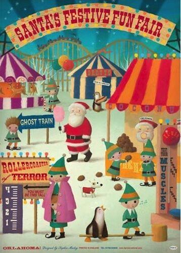 Lip International Festive Fun Fair Flat Wrap