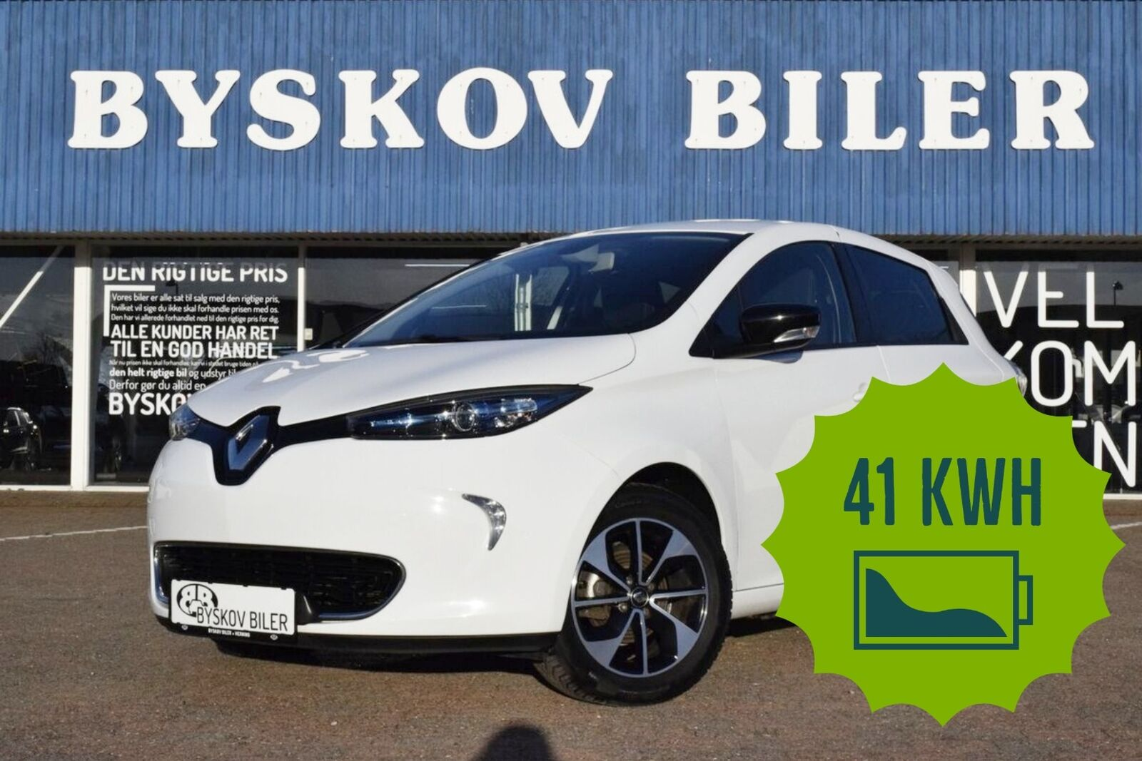 Renault Zoe  Intens 5d - 129.395 kr.