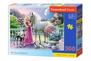 Castorland b-030088 puzzle My Friend unicorn Licorne enfants puzzle 300 pièces  </span>
