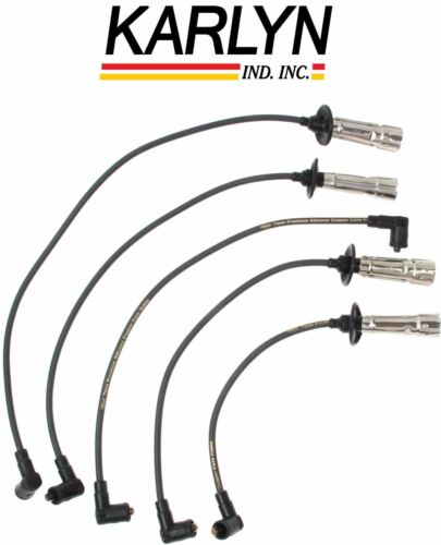 For Porsche 912 914 VW 411 412 Transporter Spark Plug Wire Set Karlyn//STI