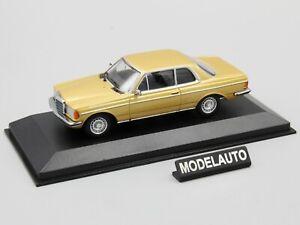 gold metallic 1976 W123 Mercedes-Benz 230CE