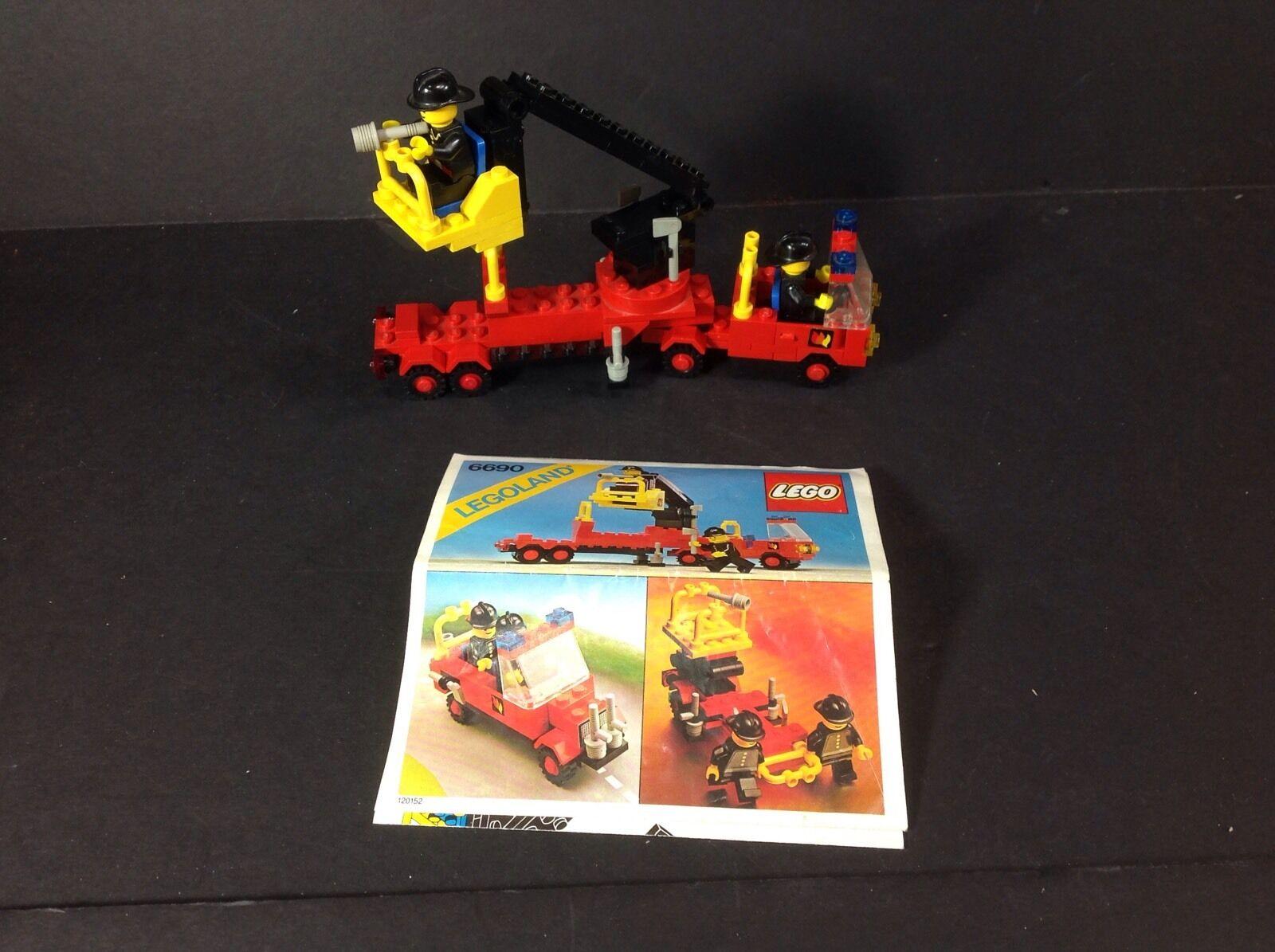 1980 Classic LEGO Town SNORKEL PUMPER (6690) 100% Complete w Instructions