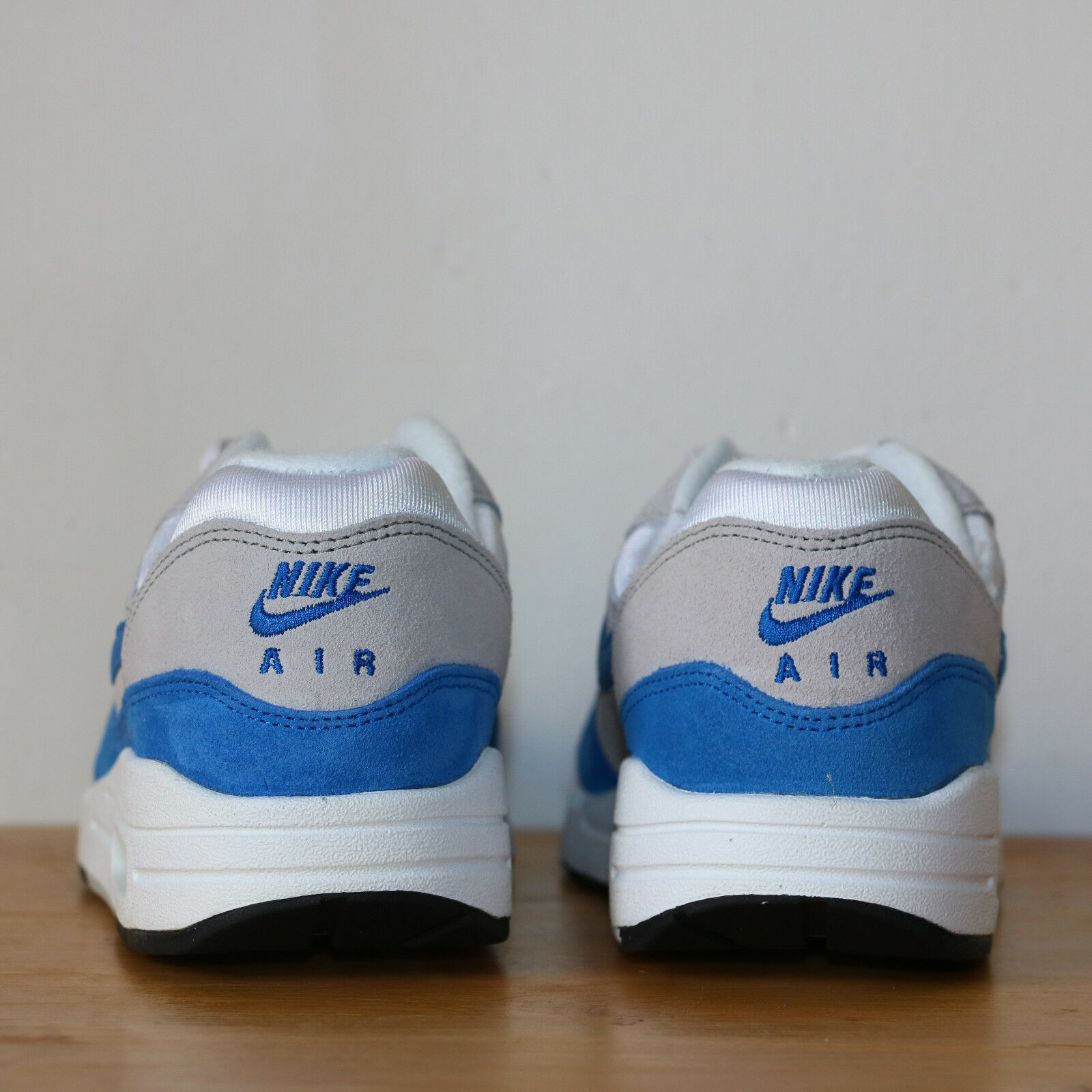 Nike Wmns GS Air Max 1 One GS Wmns 5us - 37.5eu blanc  bleu blanc he Bleue Sneakers DS 5e8bf7