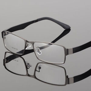 915a9e3376 New Designer Men Metal Full Rim Myopia Eyeglasses Frames Optical ...