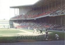 1959 RICHIE ASHBURN PHILADELPHIA PHILLIES LASER PHOTO IN CONNIE MACK STADIUM