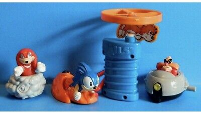 Vintage 1993 Mcdonald S Happy Meal Toys Sonic The Hedgehog 3 Full